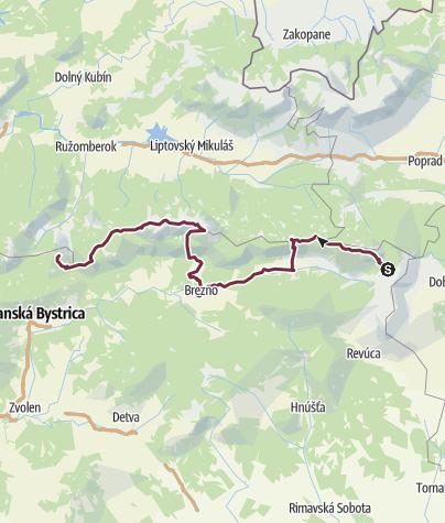 Map / E8 - Slowakia - 2006