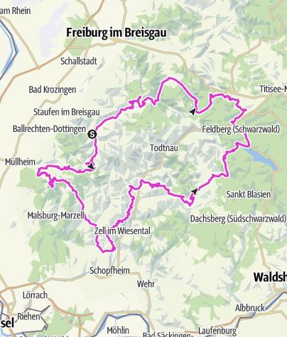 Karte / Schwarzwald Super! Silber 2019
