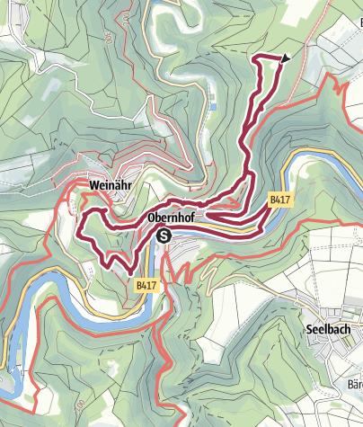 """Map / WWV-Wanderung 31.08.2019 """"Nur wo Du zu Fuß warst, bis Du gewesen"""""""