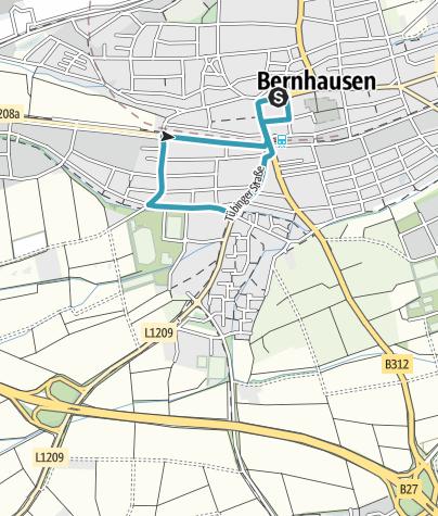 Map / Inline Halbmarathon Bernhausen 2019