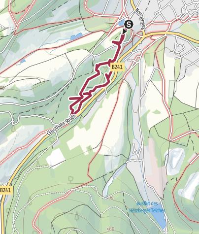 Goslar Karte.Walderlebnispfad Goslar Wanderung Outdooractive Com