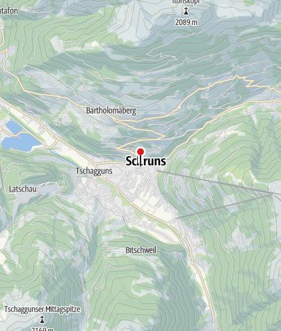 Karte / Appartement Dorfplatz