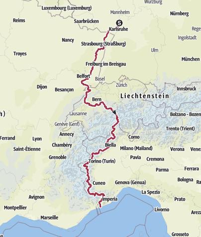 Karte / 00_Pfalz-Mittelmeer Gesamtstrecke