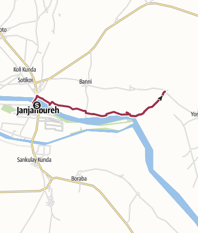 Karte / JJB - North Shore East Trail to Koli Bolong Hill