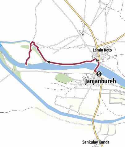 Map / JJB - North Shore West Trail to Pankun Island