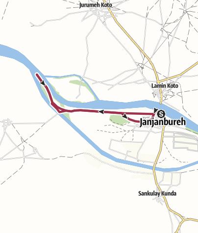 Karte / JJB - Island West to Ndandu