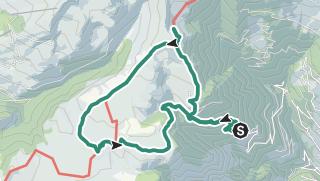 Map / Marz 2, 2019 Monte del Passo / Jocherer Berg