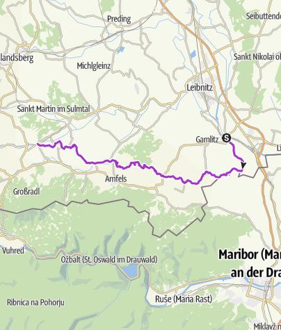 Karte / Welschlauf 2019