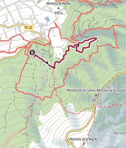 Cartina / ruta de agua