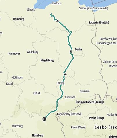 Karte / Tourenplanung am 23.02.2019 13:03:13