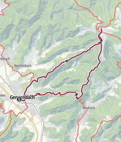 Karte / Gengenbach - Bergle - Mooskopf