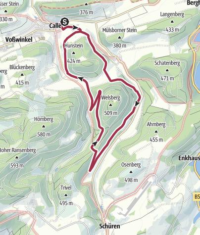 Karte / Meschede - Calle 6
