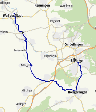 Karte / Stadt-Land-Fluss