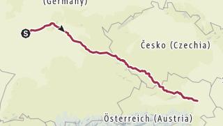 Map / Hiking Trail on 26. February 2019