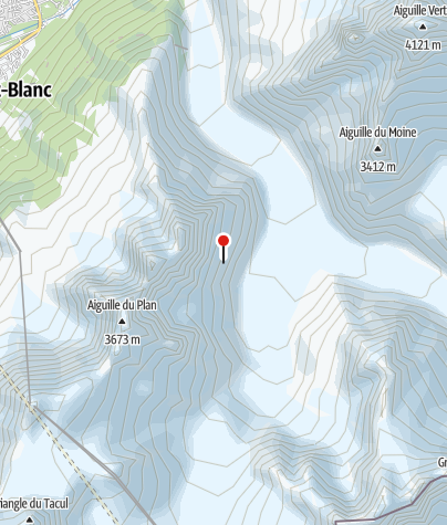 Karte / Refuge d'Envers des Aiguilles