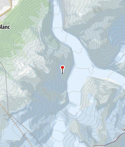 Map / Refuge d'Envers des Aiguilles