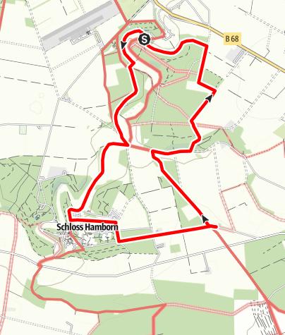 Karte / Alter Pilgerweg [Nordrunde]