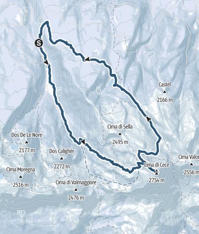 Karte / cece spitze 9.3.2019