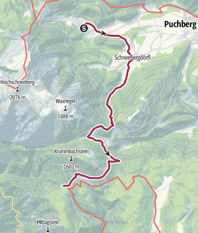 Karte / NATURFREUNDE Jubiläums-Hüttenweg 008: Losenheim - Knofeleben