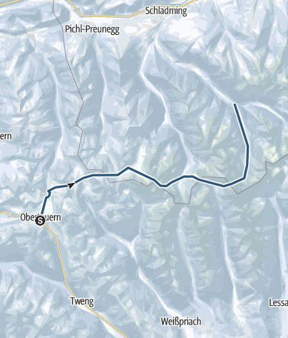 Karte / Samson-Haute-Route