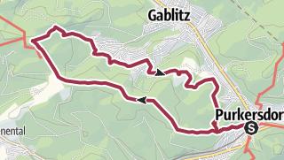 Mapa / Pecurso com track GPX em 24 de Março de 2019