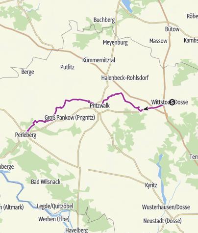 Karte / Wittstock (Dosse) - Perleberg