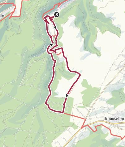 Karte / Erweiterung Schöpferpfad
