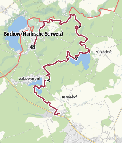 Map / Buckow --> Dahmsdorf
