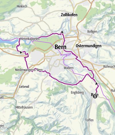 Karte / MR/ Wohlen -Bremgarten (Klaraweg)