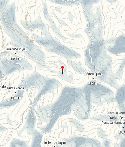 Karte / Rif Arena 1510m