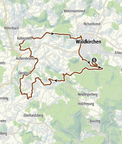 Map / RSC Denkhof über Hohe Reute und Sicklinger Berg