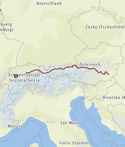 Karte / Mein Weg nach Hause