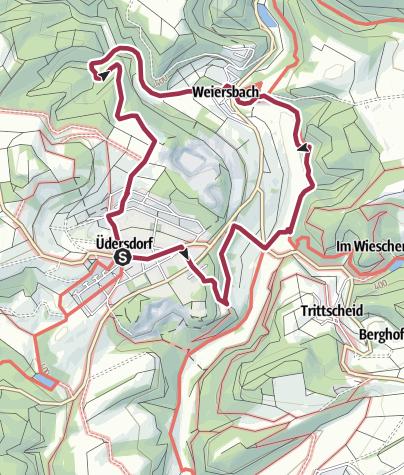 Karte / Tälerweg