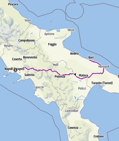 Karte / Tourenplanung am 13.04.2019 08:02:42