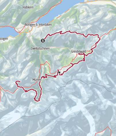 Map / Tour of the  Jungfrau 9/2019