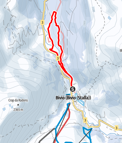 Map / Bivio - Stalvedro - Bivio