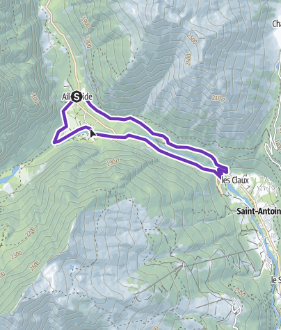 Map / Gyronde 8km Trail