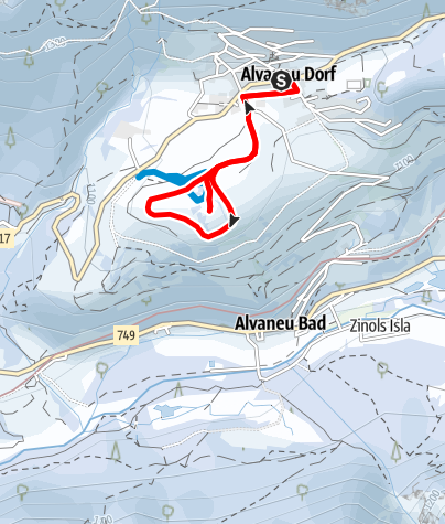 """Map / Ringweg """"Sontg Antoni - Faderna"""""""