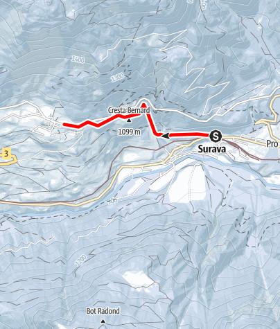 Map / Höhenspazierweg
