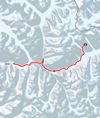 Karte / Great Trango (6287 m) - Hochtourengipfel im Karakorum