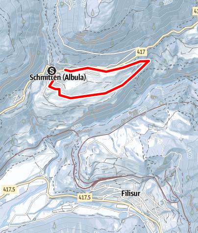 Map / Rund um Schmitten