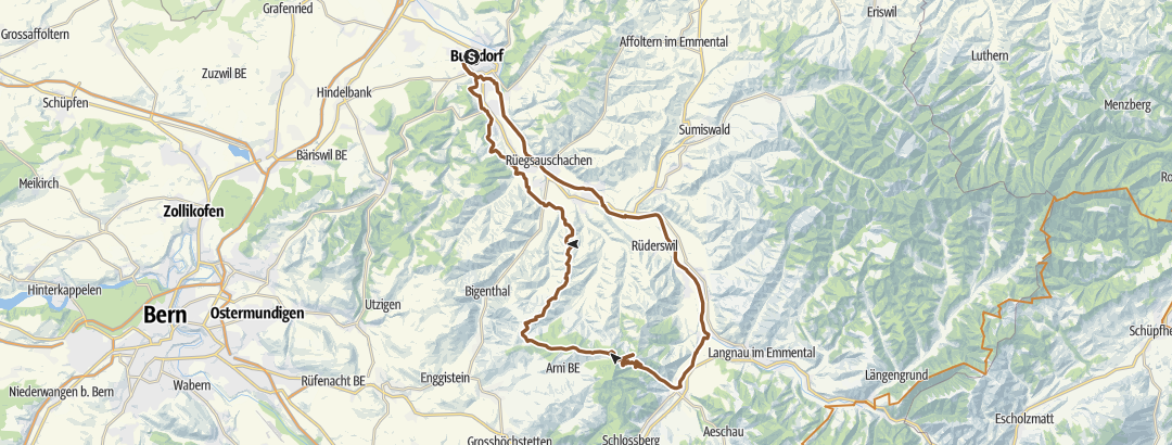 Mapa / Burgdorf-Moosegg 18.04.2019
