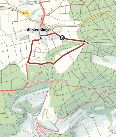 Karte / Altsteußlinger Stationenweg - Rundweg bei Altsteußlingen