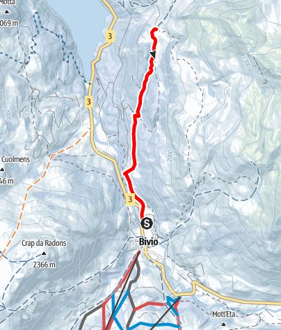Karte / Alp Natons Tour
