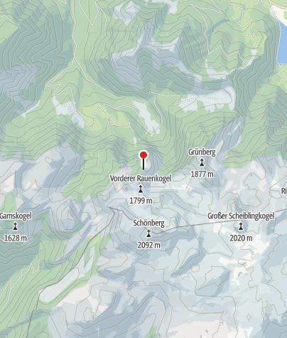 Karte / Hochk.Hütte 1558m