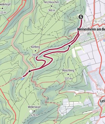 Karte / Bänkel-Tour zum Ungeheuersee