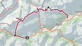 Map / 4 Tage Trip über den höchsten Gipfel der Allgäuer Alpen