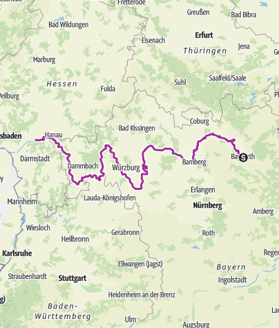 מפה / Mainradwg