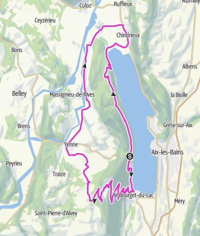 Karte / Mont du Chat