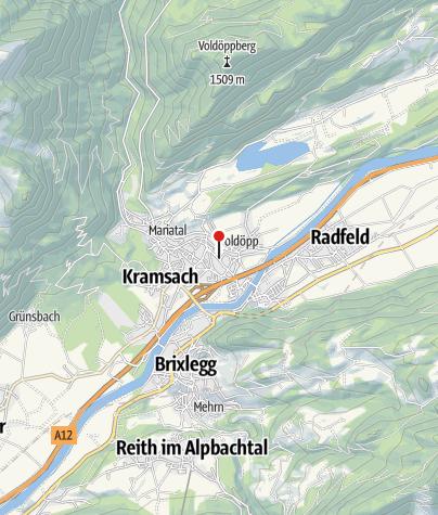 Karte / Hotel Kramsacherhof